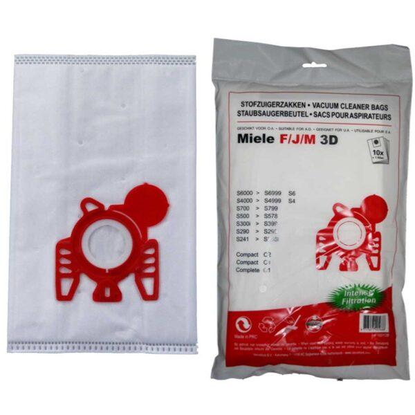 580R10 Microfiber Σακούλες miele type f-j-m-g-n