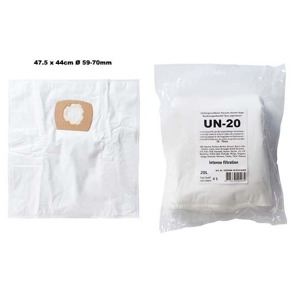 UN20 Universal microfiber dustbags 20L